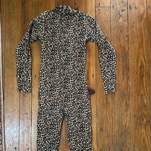 American Apparel Pants & Jumpsuits - Halloween Leopard Leotard